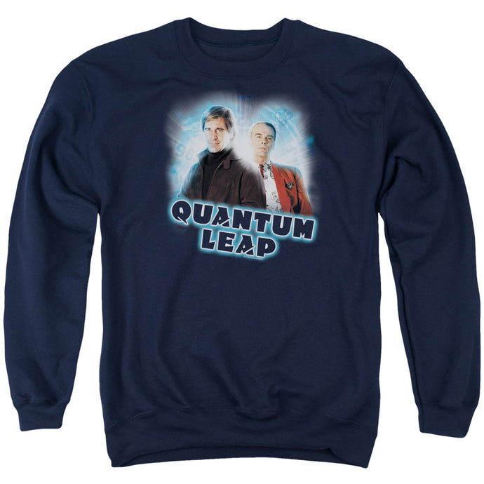 Quantum Leap - Sam And Al Adult Crewneck Sweatshirt - Special Holiday Gift