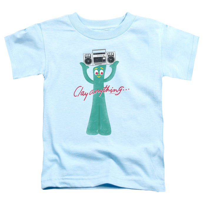 Gumby - Clay Anything Short Sleeve Toddler Tee - Special Holiday Gift