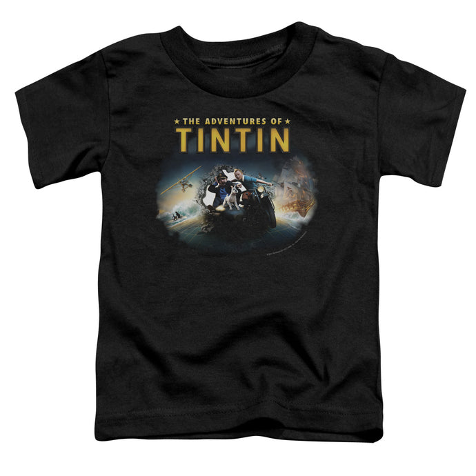 Tintin - Journey Short Sleeve Toddler Tee - Special Holiday Gift