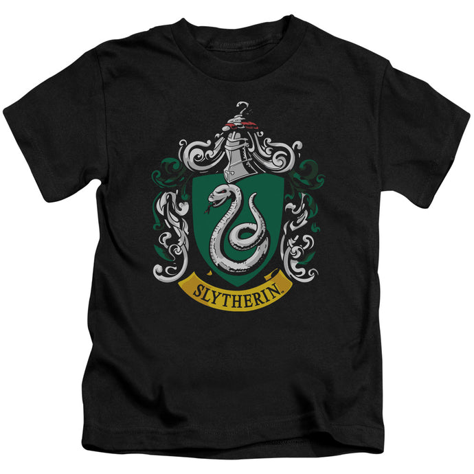 Harry Potter - Slytherin Crest Short Sleeve Juvenile 18/1 Tee - Special Holiday Gift