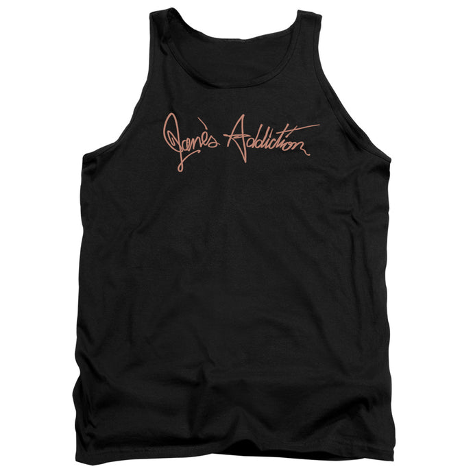 Janes Addiction - Script Logo Adult Tank - Special Holiday Gift