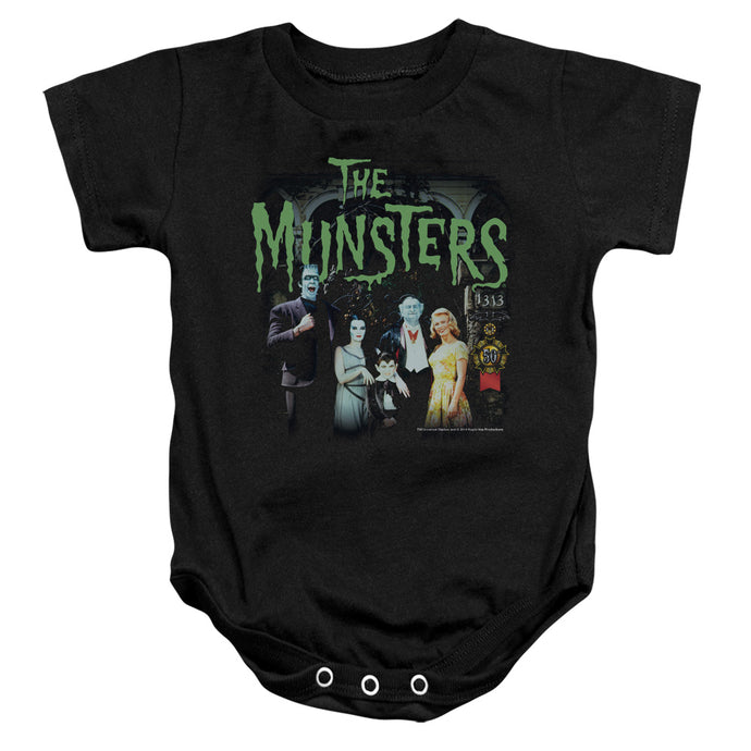 The Munsters - 1313 50 Years Infant Snapsuit - Special Holiday Gift