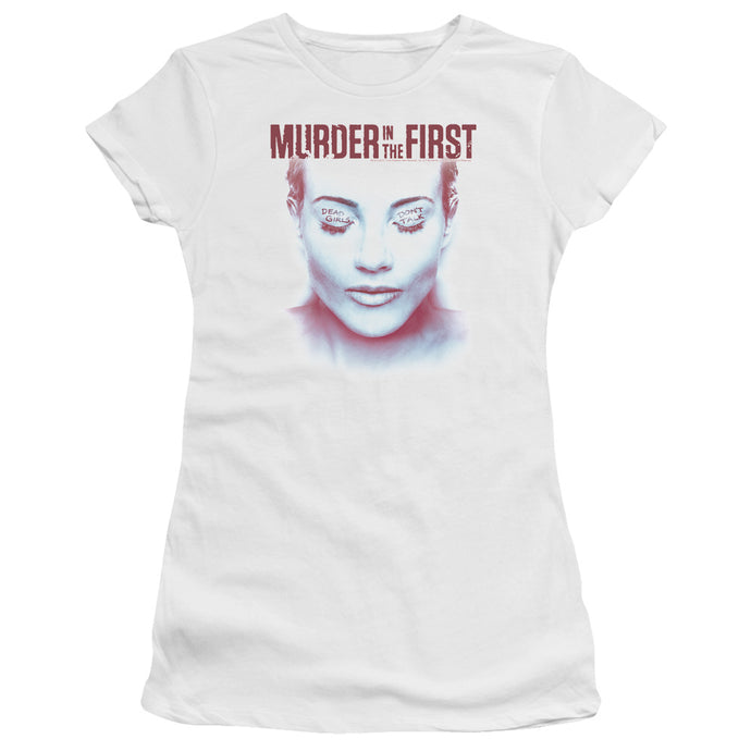 Murder In The First - Don't Talk Short Sleeve Junior Sheer - Special Holiday Gift