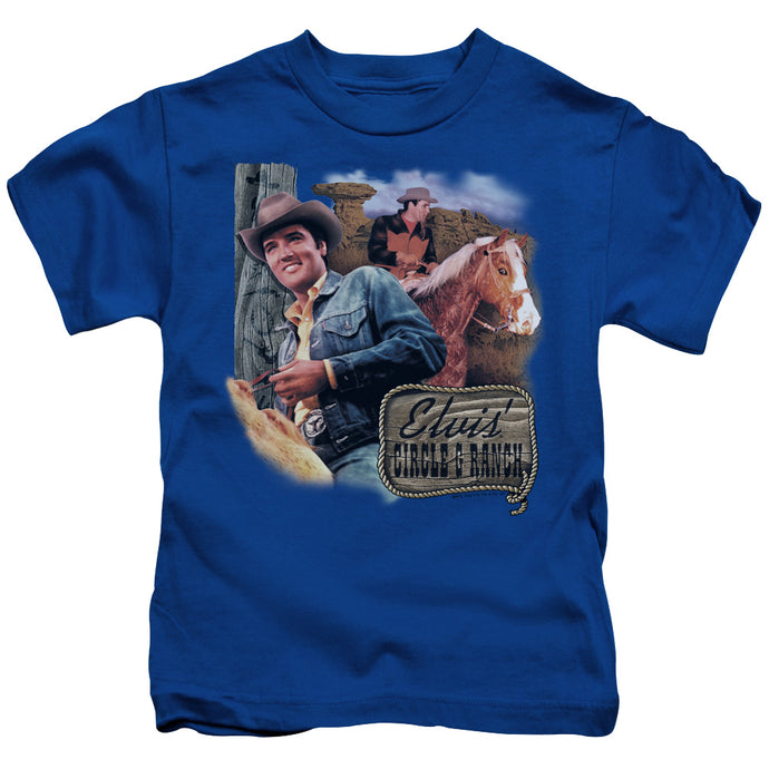 Elvis - Ranch Short Sleeve Juvenile 18/1 Tee - Special Holiday Gift
