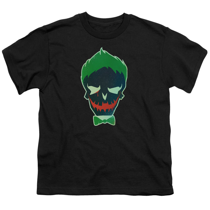 Suicide Squad - Joker Skull Short Sleeve Youth 18/1 Tee - Special Holiday Gift