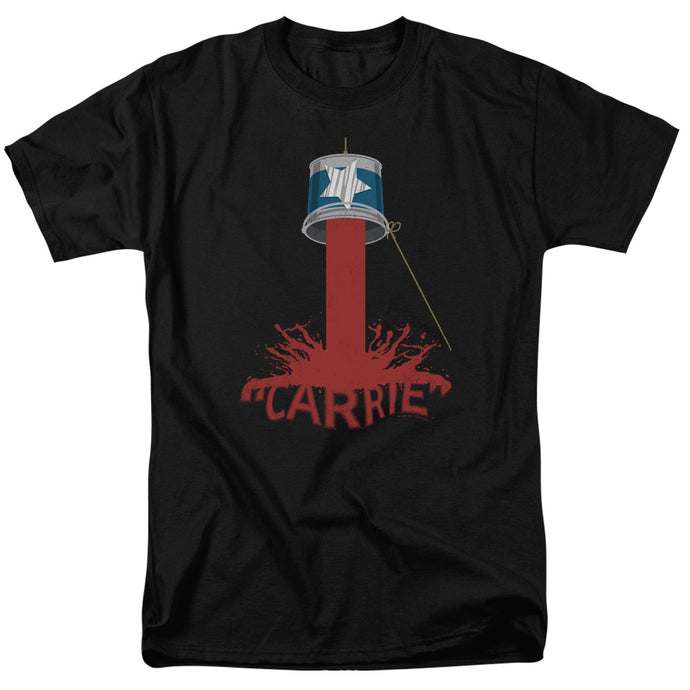 Carrie - Bucket Of Blood Short Sleeve Adult 18/1 Tee - Special Holiday Gift