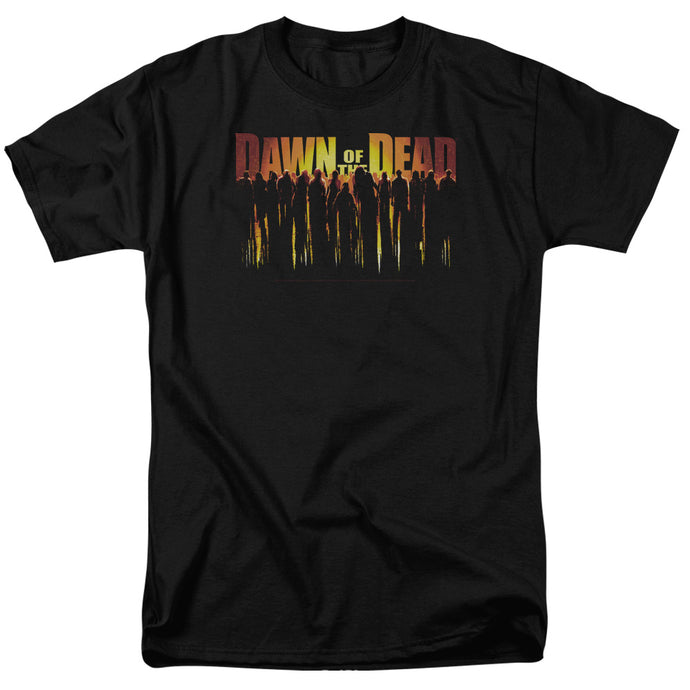 Dawn Of The Dead - Walking Dead Short Sleeve Adult 18/1 Tee - Special Holiday Gift