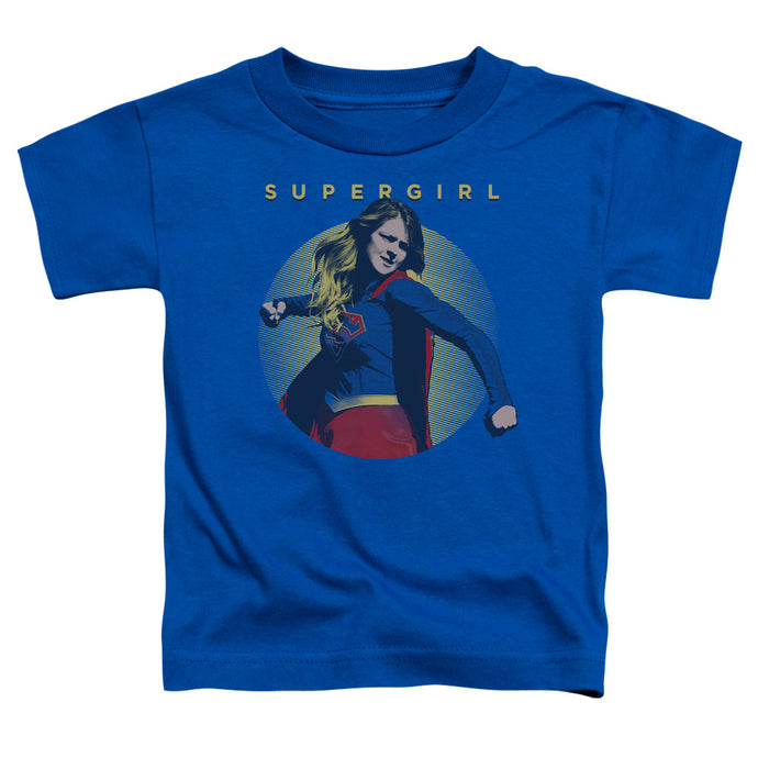 Supergirl - Classic Hero Short Sleeve Toddler Tee - Special Holiday Gift