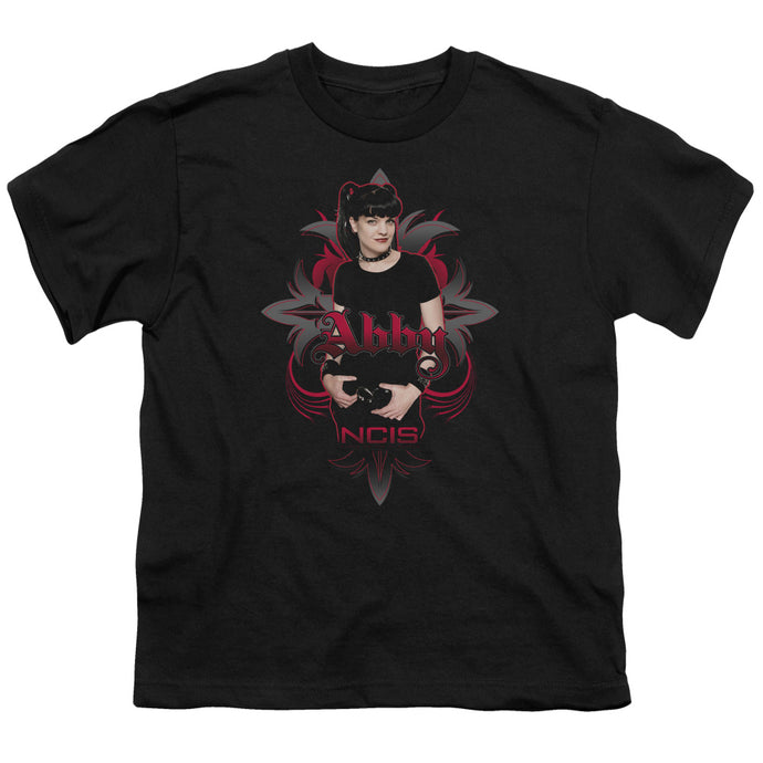 Ncis - Abby Gothic Short Sleeve Youth 18/1 Tee - Special Holiday Gift