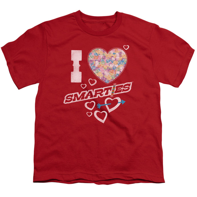 Smarties - I Heart Smarties Short Sleeve Youth 18/1 Tee - Special Holiday Gift