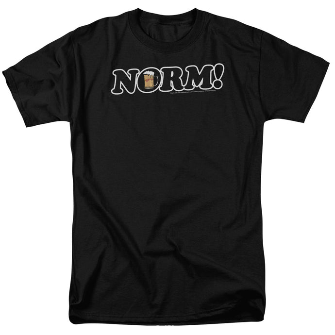 Cheers - Norm! Short Sleeve Adult 18/1 Tee - Special Holiday Gift