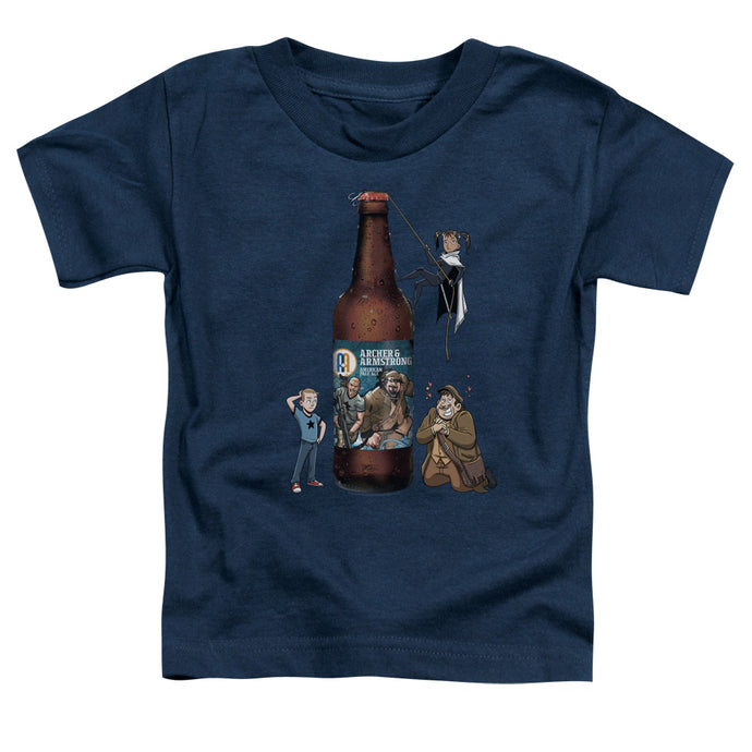 Archer & Armstrong - Ale Short Sleeve Toddler Tee - Special Holiday Gift
