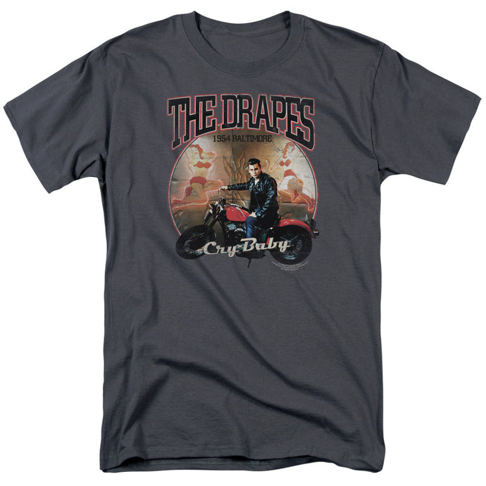 Cry Baby - Drapes Short Sleeve Adult 18/1 Tee - Special Holiday Gift