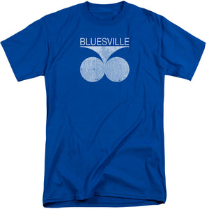 Bluesville - Bluesville Distress Short Sleeve Adult Tall Tee - Special Holiday Gift