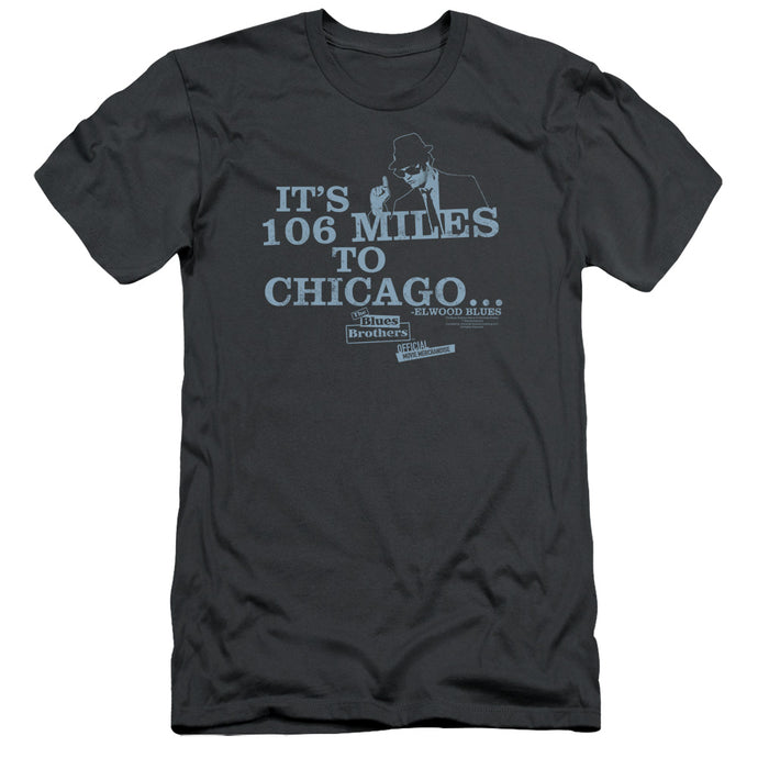 Blues Brothers - Chicago Short Sleeve Adult 30/1 Tee - Special Holiday Gift