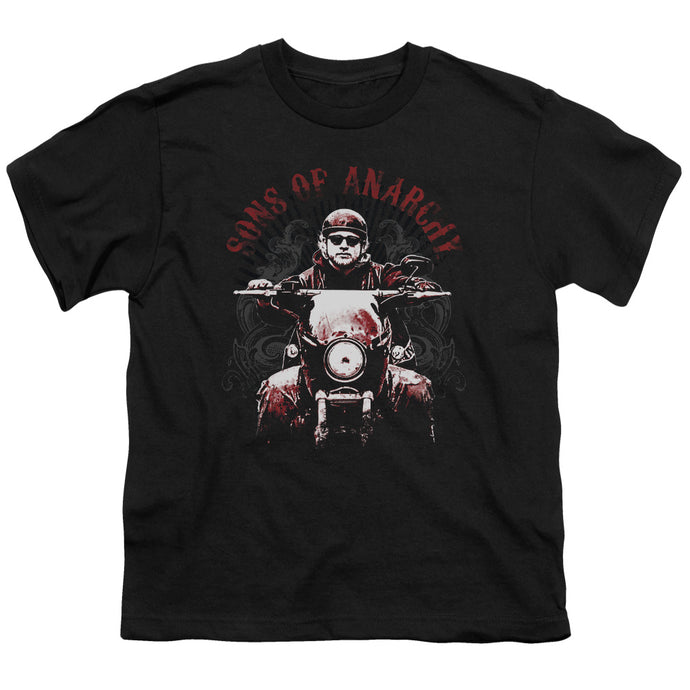 Sons Of Anarchy - Ride On Short Sleeve Youth 18/1 Tee - Special Holiday Gift