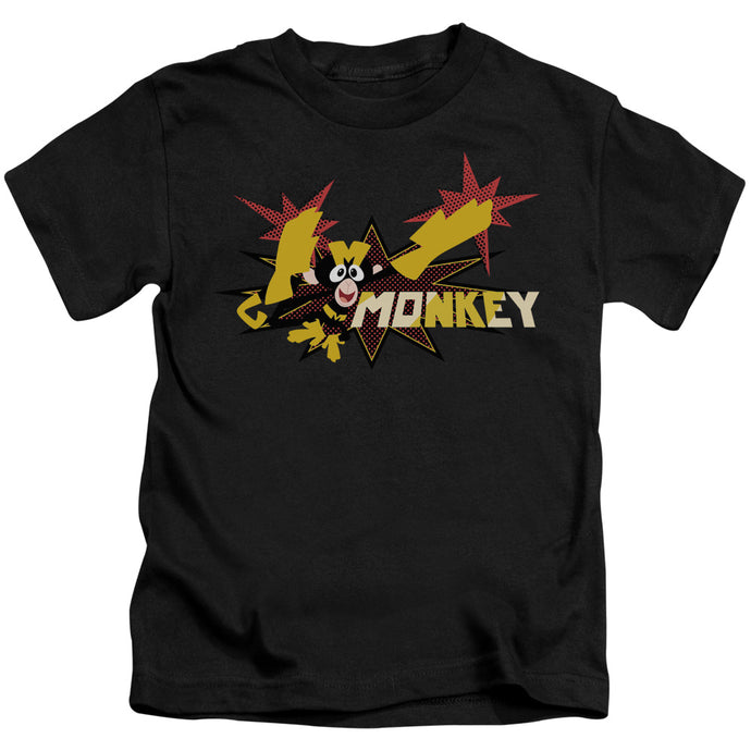 Dexters's Laboratory - Monkey Short Sleeve Juvenile 18/1 Tee - Special Holiday Gift