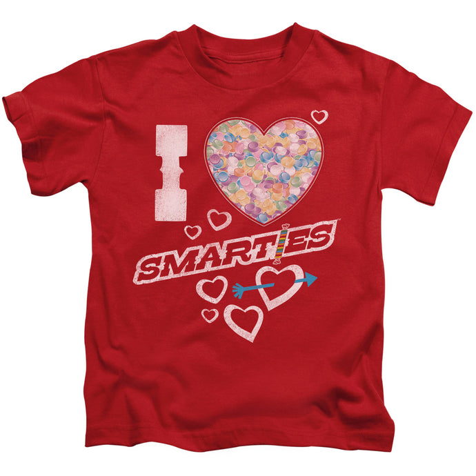 Smarties - I Heart Smarties Short Sleeve Juvenile 18/1 Tee - Special Holiday Gift