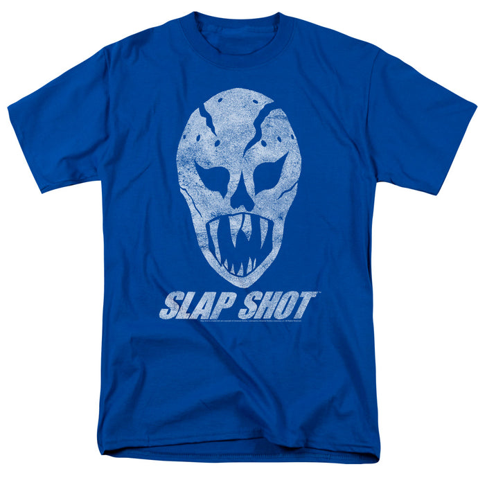 Slap Shot - The Mask Short Sleeve Adult 18/1 Tee - Special Holiday Gift
