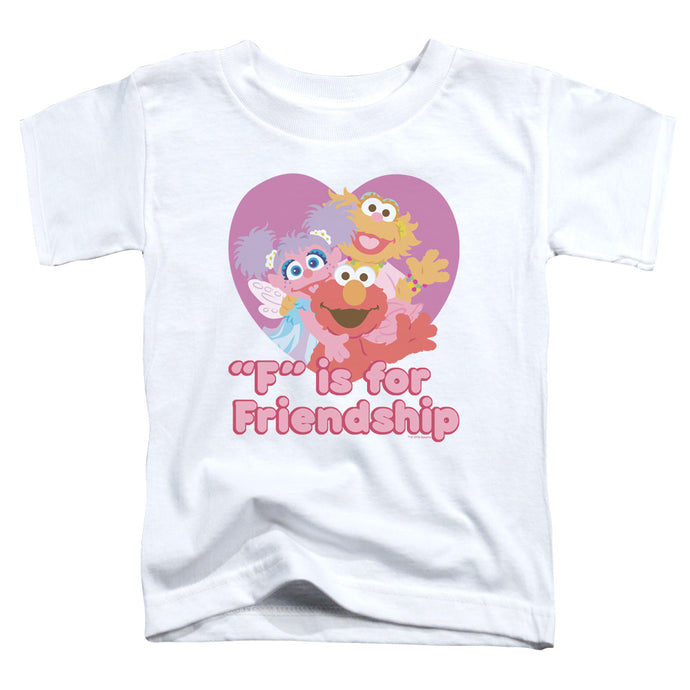 Sesame Street - Friendship Short Sleeve Toddler Tee - Special Holiday Gift