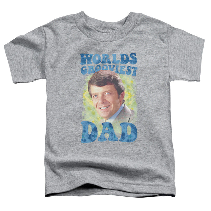 Brady Bunch - Worlds Grooviest Short Sleeve Toddler Tee - Special Holiday Gift