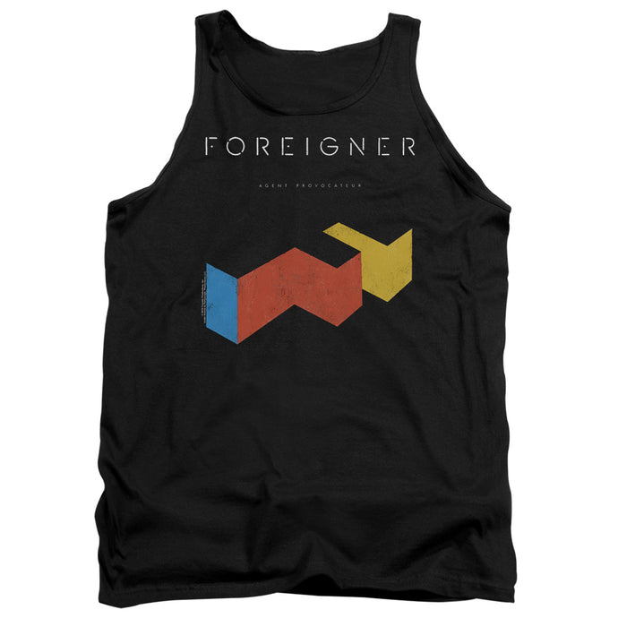Foreigner - Agent Provocateur Adult Tank - Special Holiday Gift