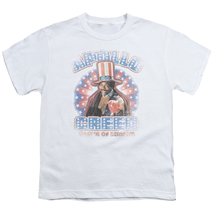 Rocky - Apollo Creed Short Sleeve Youth 18/1 Tee - Special Holiday Gift