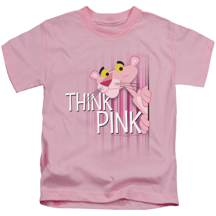 Pink Panther - Think Pink Short Sleeve Juvenile 18/1 Tee - Special Holiday Gift