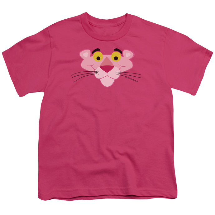 Pink Panther - Face Short Sleeve Youth 18/1 Tee - Special Holiday Gift