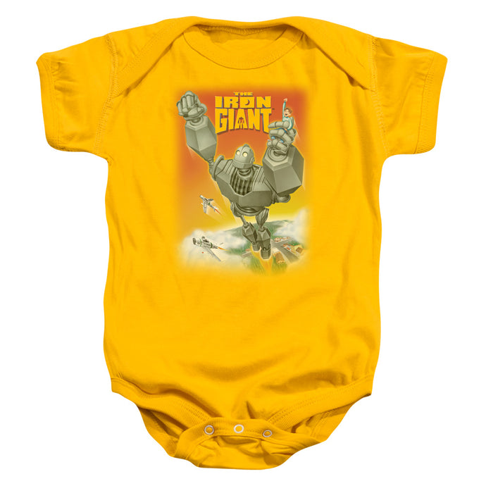 Iron Giant - Fly Away Infant Snapsuit - Special Holiday Gift