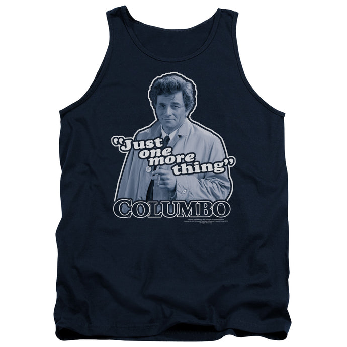 Columbo - Just One More Thing Adult Tank - Special Holiday Gift