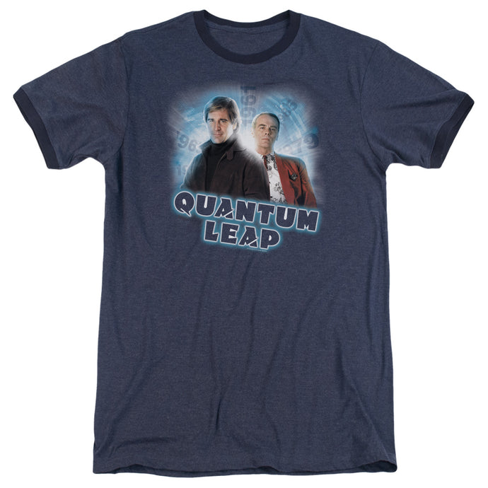 Quantum Leap - Sam And Al Adult Heather - Special Holiday Gift