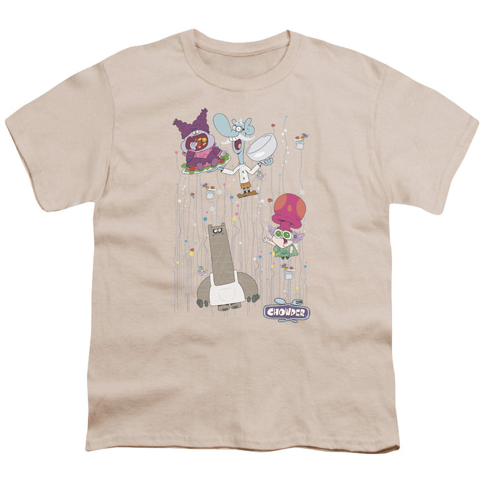 Chowder - Dots Collage Short Sleeve Youth 18/1 Tee - Special Holiday Gift