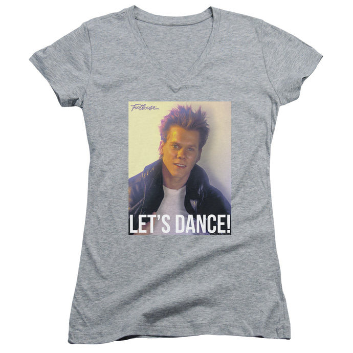 Footloose - Lets Dance Junior V Neck Tee - Special Holiday Gift