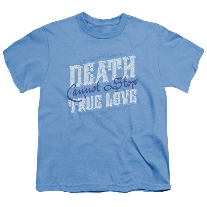 Princess Bride - Love Over Death Short Sleeve Youth 18/1 Tee - Special Holiday Gift