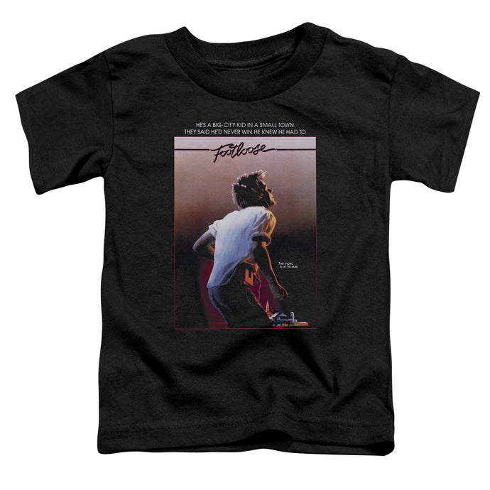 Footloose - Poster Short Sleeve Toddler Tee - Special Holiday Gift