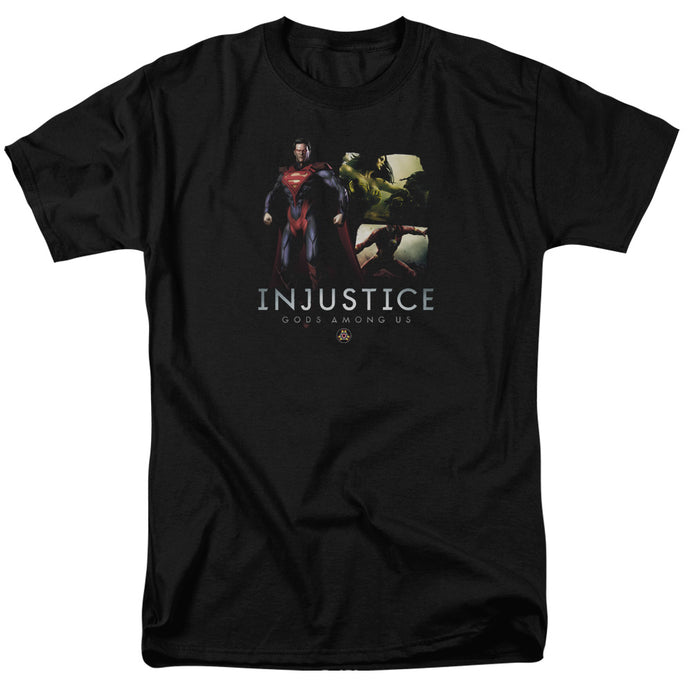Injustice Gods Among Us - Supermans Revenge Short Sleeve Adult 18/1 Tee - Special Holiday Gift