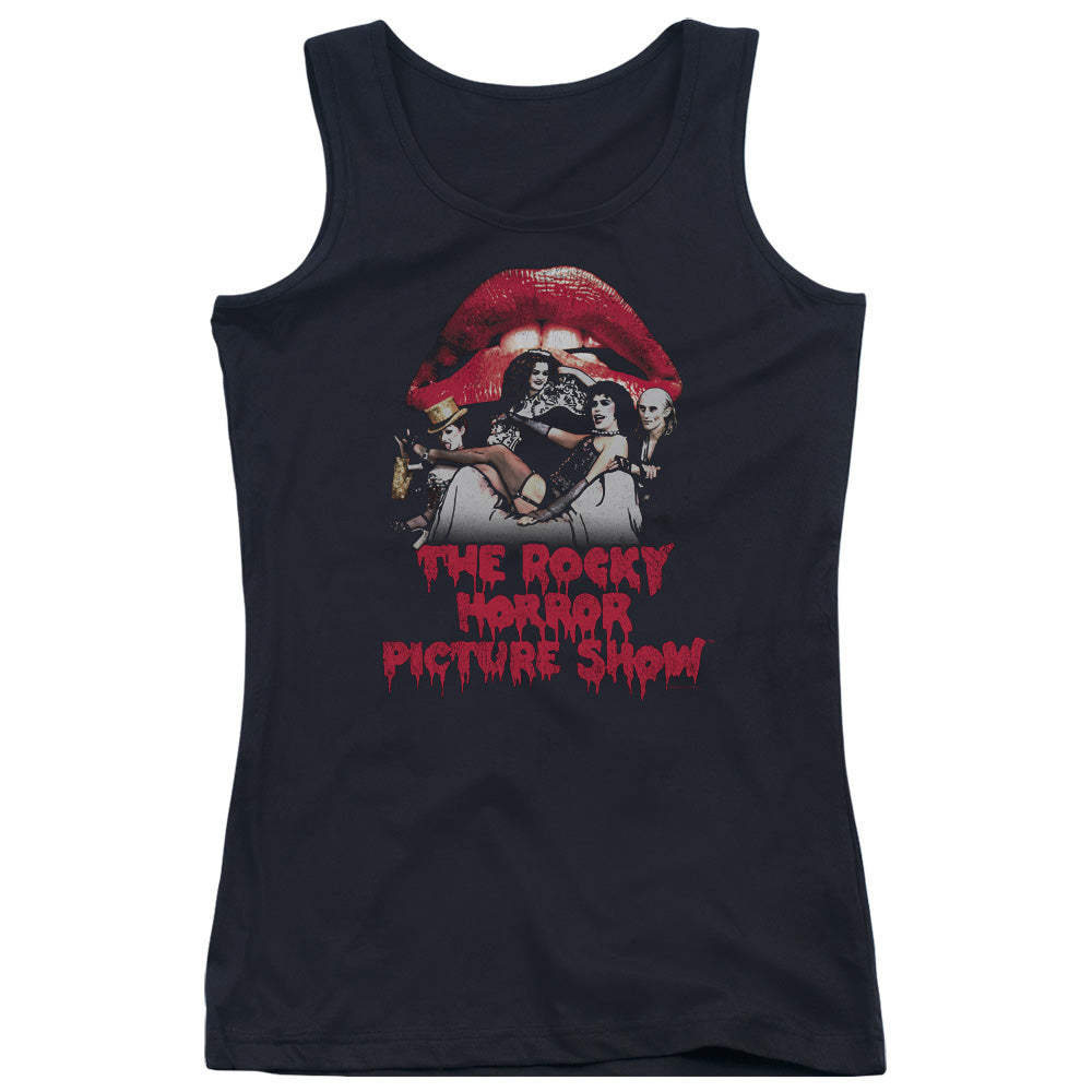 Rocky Horror Picture Show - Casting Throne Juniors Tank Top - Special Holiday Gift