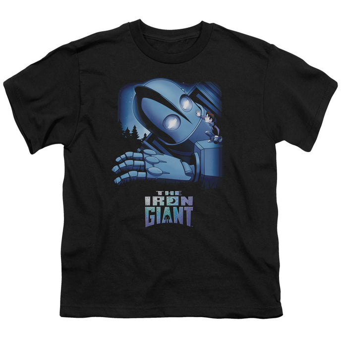 Iron Giant - Giant And Hogarth Short Sleeve Youth 18/1 Tee - Special Holiday Gift