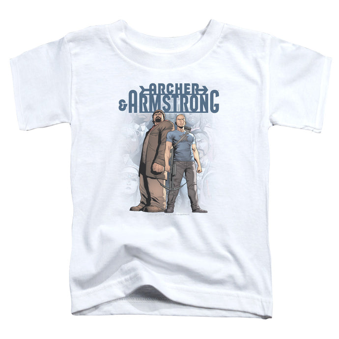 Archer & Armstrong - Two Against All Short Sleeve Toddler Tee - Special Holiday Gift