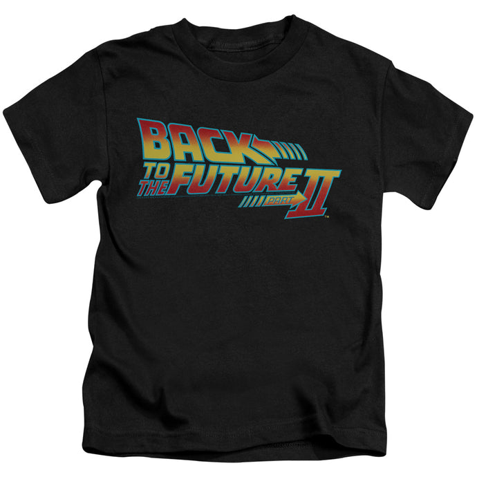 Back To The Future Ii - Logo Short Sleeve Juvenile 18/1 Tee - Special Holiday Gift
