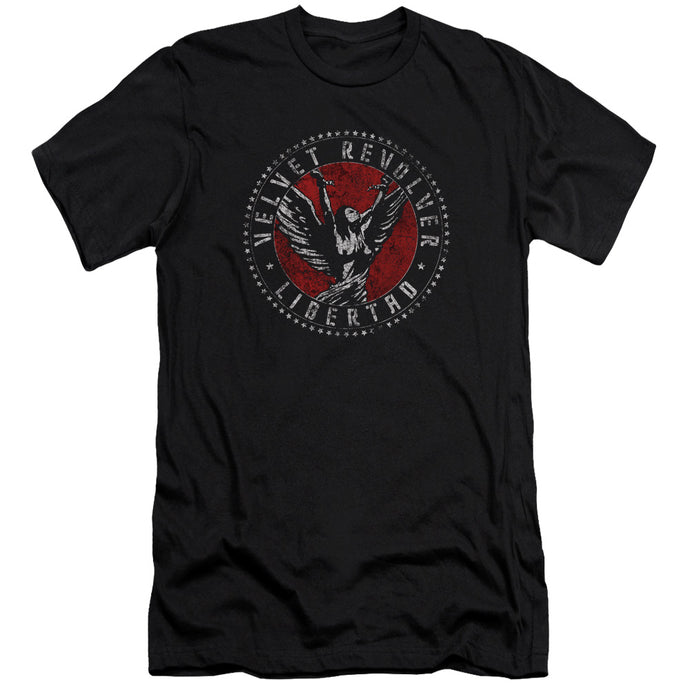 Velvet Revolver - Circle Logo Short Sleeve Adult 30/1 Tee - Special Holiday Gift