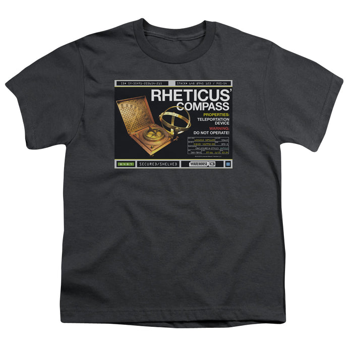 Warehouse 13 - Rheticus Compass Short Sleeve Youth 18/1 Tee - Special Holiday Gift