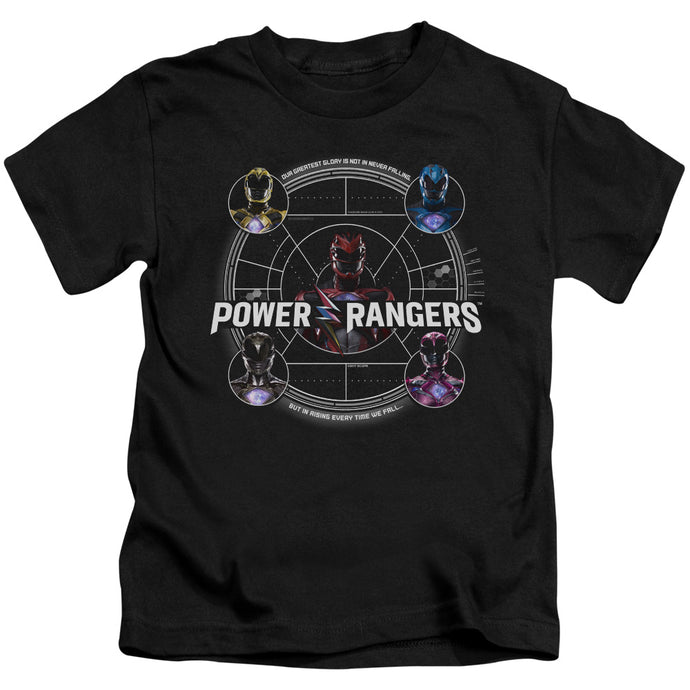 Power Rangers - Greatest Glory Short Sleeve Juvenile 18/1 Tee - Special Holiday Gift