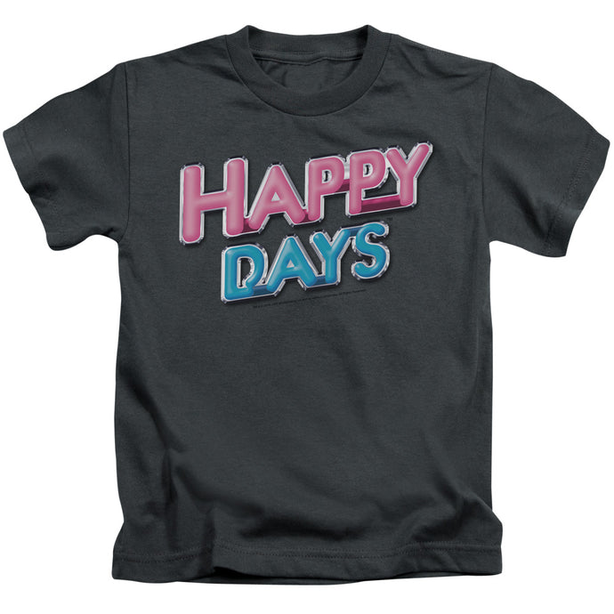 Happy Days - Happy Days Logo Short Sleeve Juvenile 18/1 Tee - Special Holiday Gift