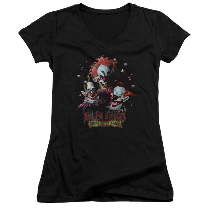 Killer Klowns From Outer Space - Killer Klowns Junior V Neck Tee - Special Holiday Gift