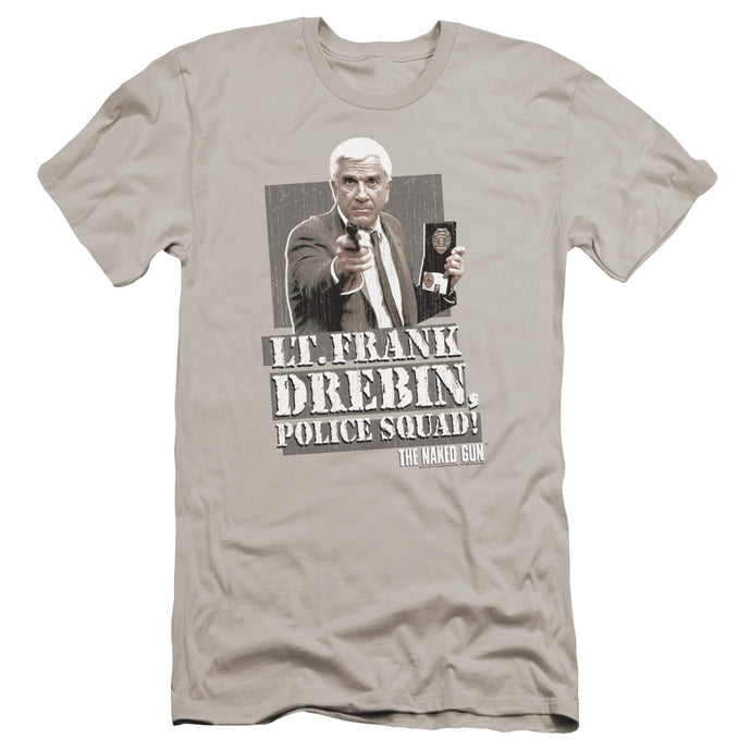 Naked Gun - Fran Drebin Premium Canvas Adult Slim Fit 30/1 - Special Holiday Gift