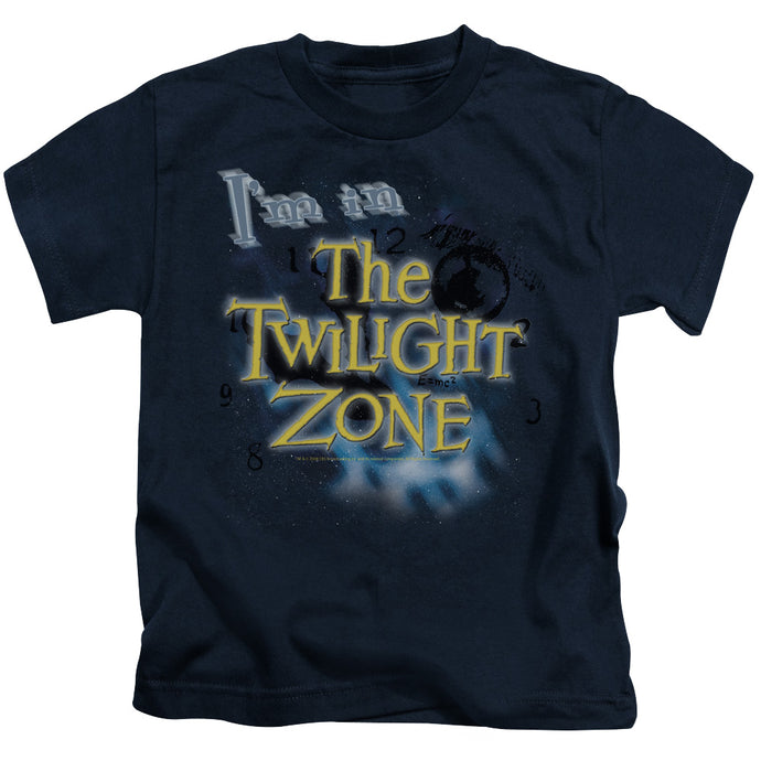 Twilight Zone - I'm In The Twilight Zone Short Sleeve Juvenile 18/1 Tee - Special Holiday Gift