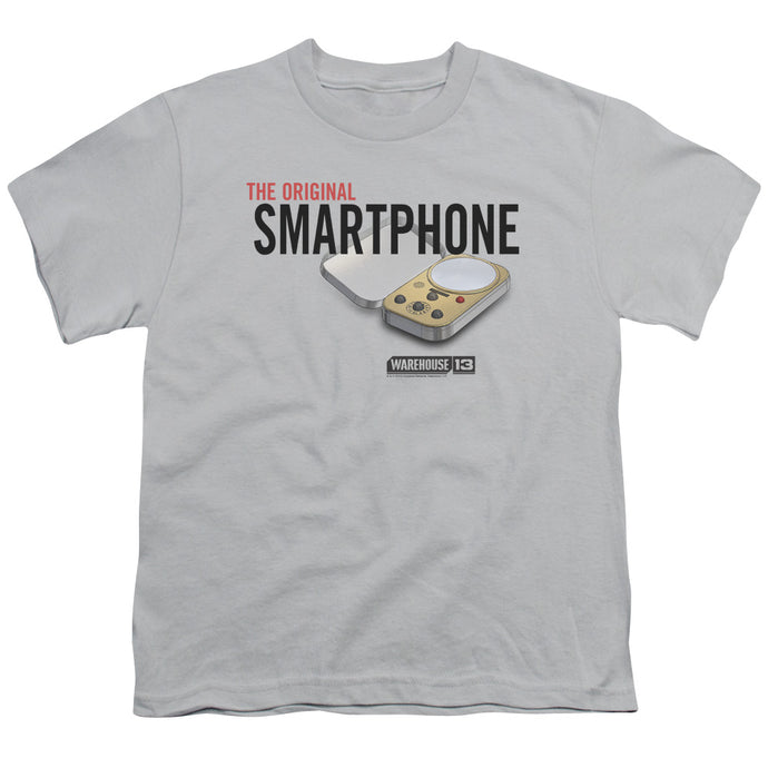 Warehouse 13 - Original Smartphone Short Sleeve Youth 18/1 Tee - Special Holiday Gift