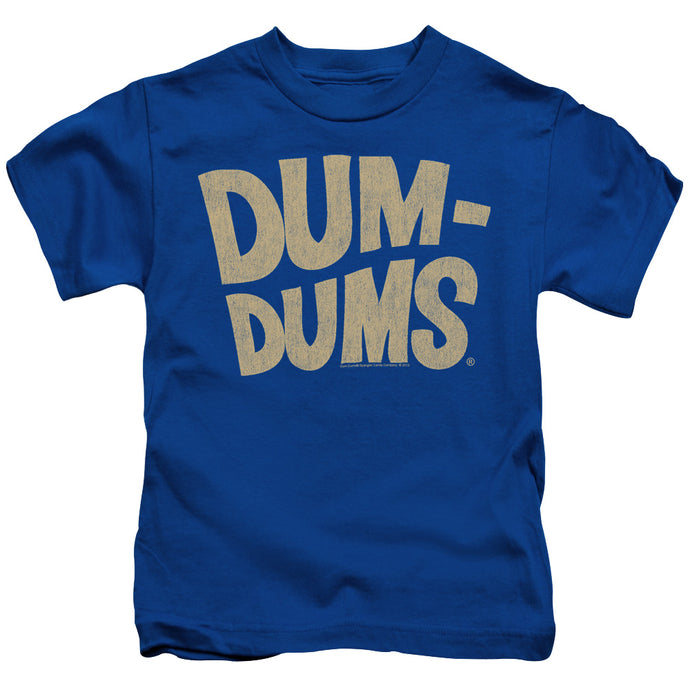 Dum Dums - Distressed Logo Short Sleeve Juvenile 18/1 Tee - Special Holiday Gift